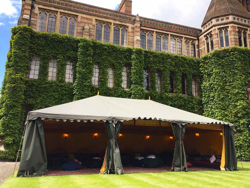 small marquee hire attentive events