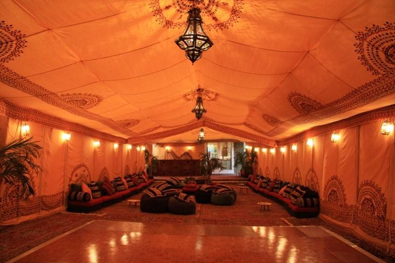 arabian props, dancefloor hire, chill out furniture hire, oxfordshire, gloucestershire