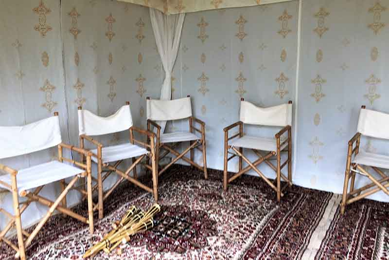 arabian props, directors chairs, chill out furniture hire, oxfordshire, gloucestershire
