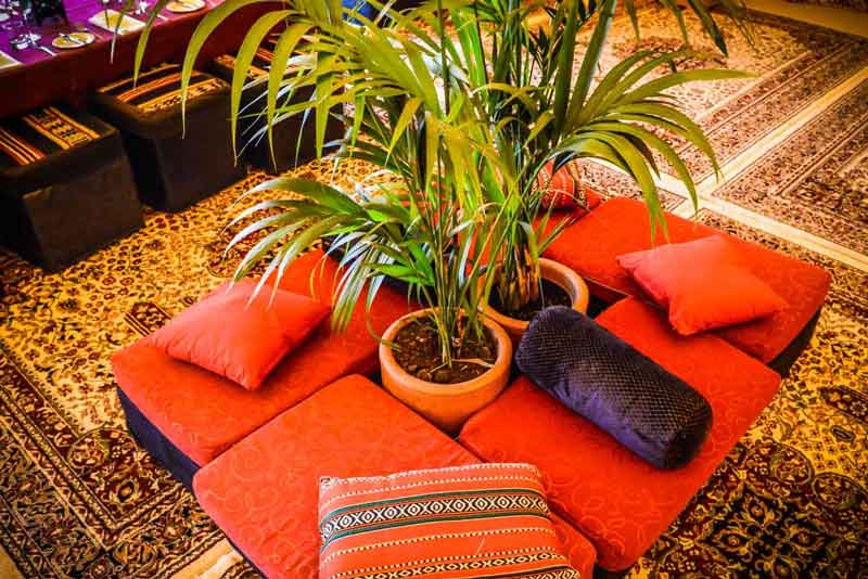 arabian props, palm tree hire, chill out furniture hire, oxfordshire, gloucestershire