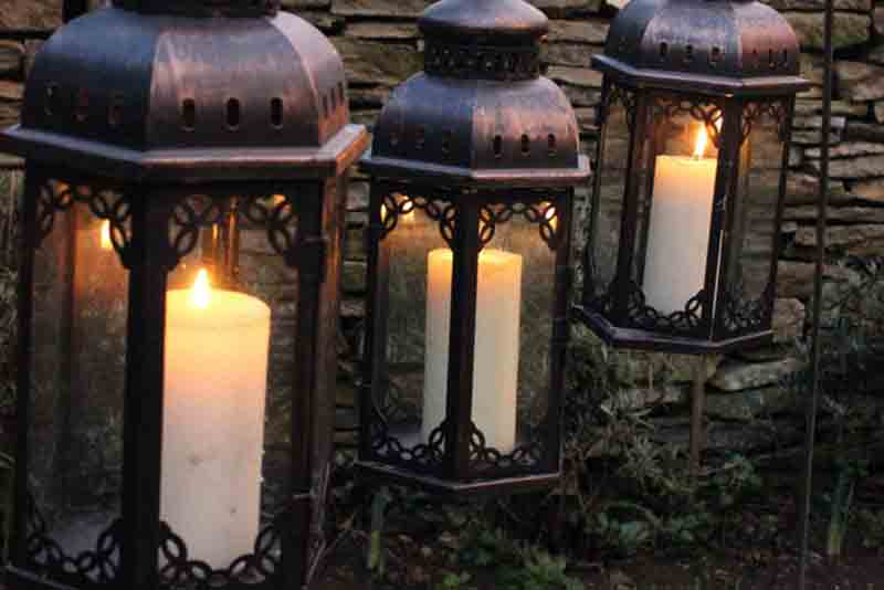 arabian props, tangier pole lantern, chill out furniture hire, oxfordshire, Gloucestershire