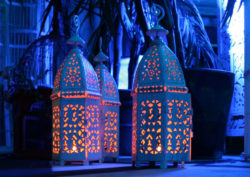 arabian props, Candle Lanterns, chill out furniture hire, oxfordshire, Gloucestershire