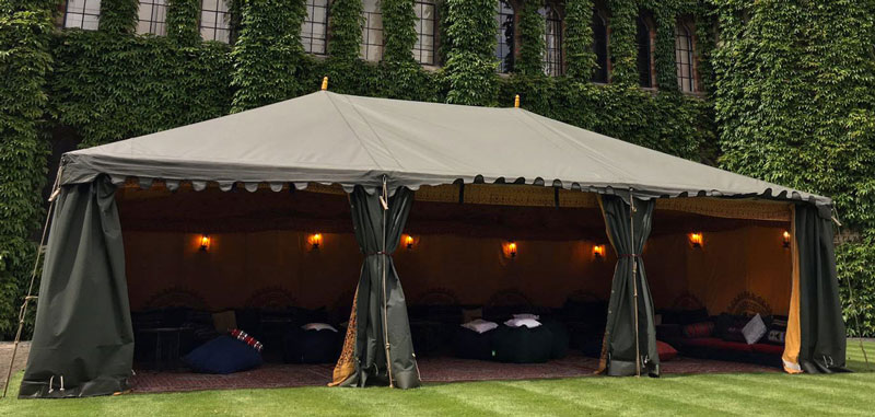 Luxurious Arabian Tent Hire & Arabian Tents and Boutique Marquee Hire | Attentive Events