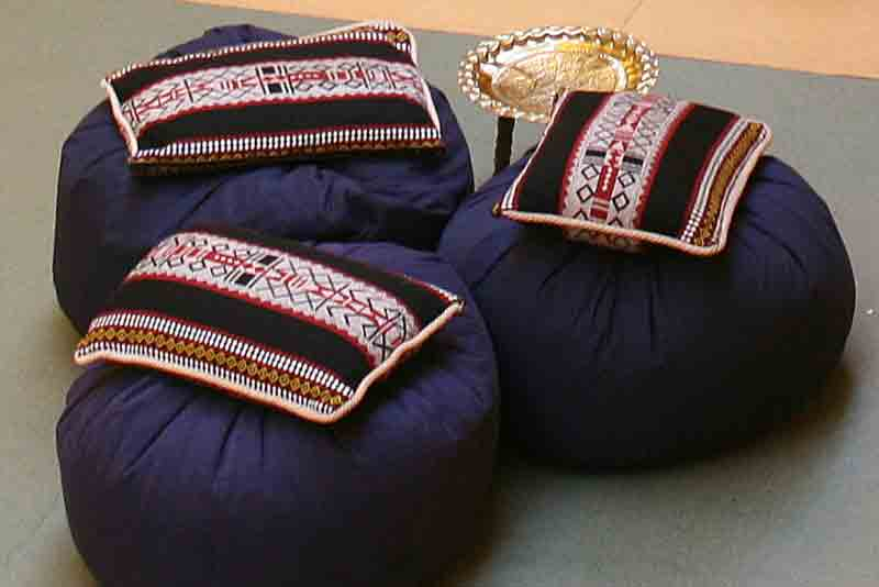 Chill out furniture hire, arabian cushions, beanbags, low level tables