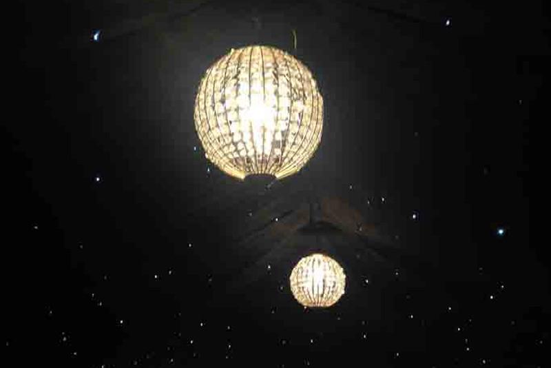 event lighting, chanderliers, marquee hire, garden party tents
