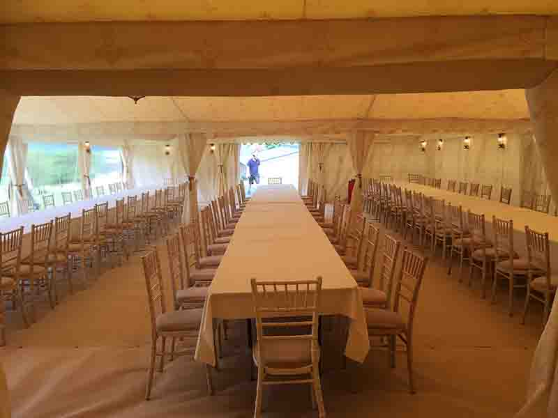 Party tent hire, indian marquee lining, oxfordshire, Gloucestershire