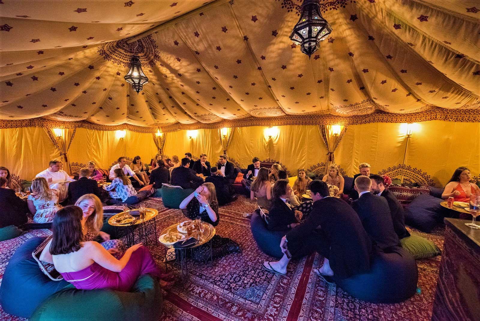 6m x 9m Bedouin Tent & Bedouin Tent Hire Prices and Arabian Events - Attentive Events